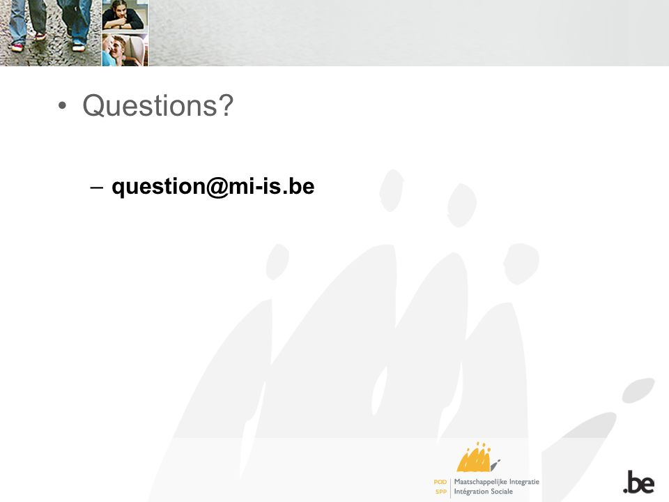 Questions –question@mi-is.be