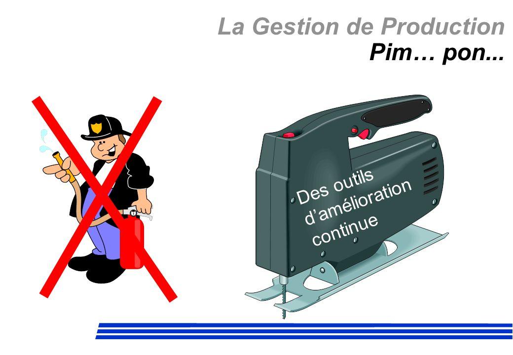 La Gestion de Production Pim… pon... Des outils damélioration continue