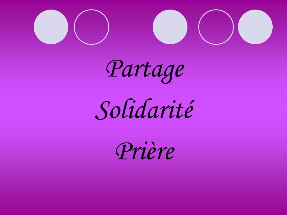 Partage Solidarité Prière