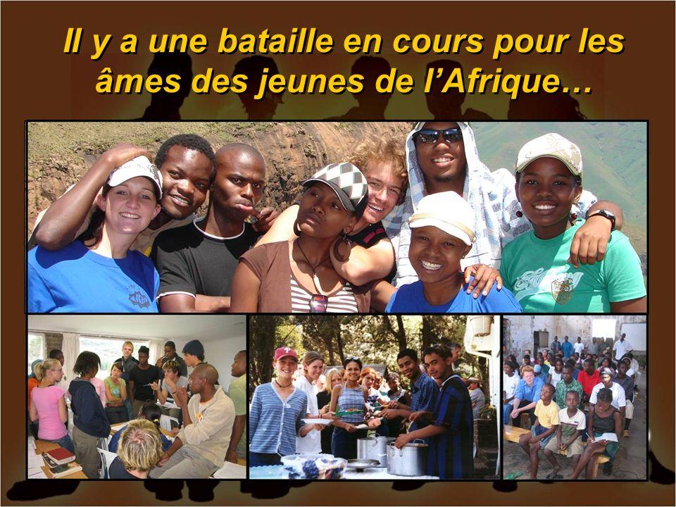 Il y a une bataille en cours pour les âmes des jeunes de lAfrique…