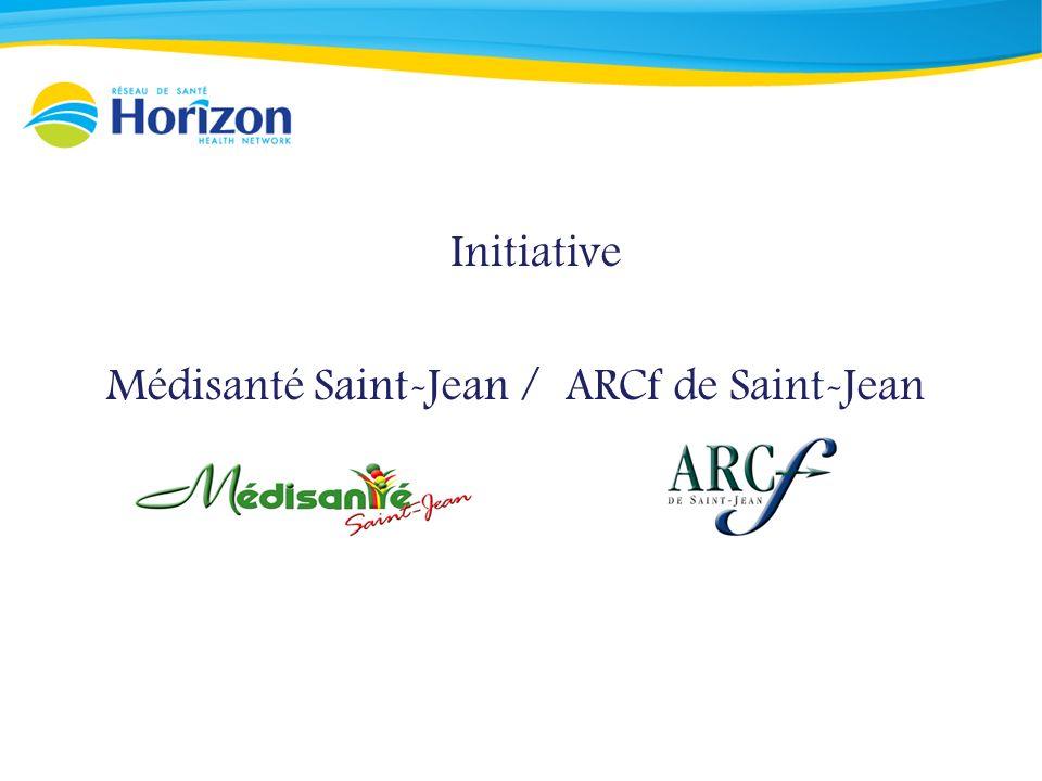Initiative Médisanté Saint-Jean / ARCf de Saint-Jean