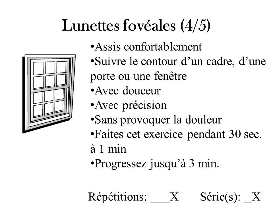 Lunettes fovéales (5/5)
