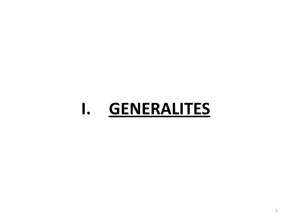 I.GENERALITES 3