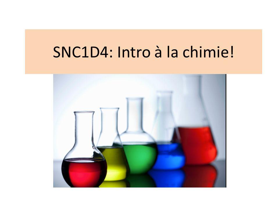 Cest quoi la chimie.