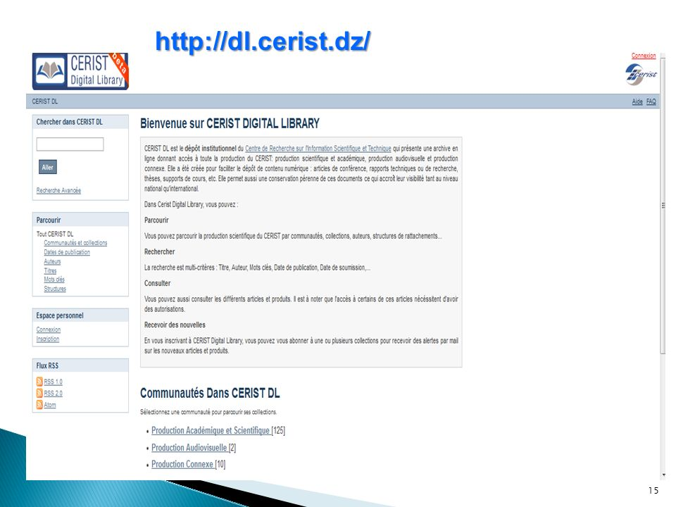 15 http://dl.cerist.dz/
