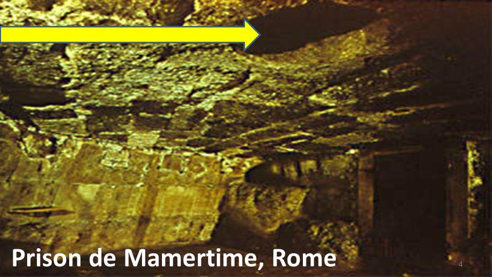Prison de Mamertime, Rome 4