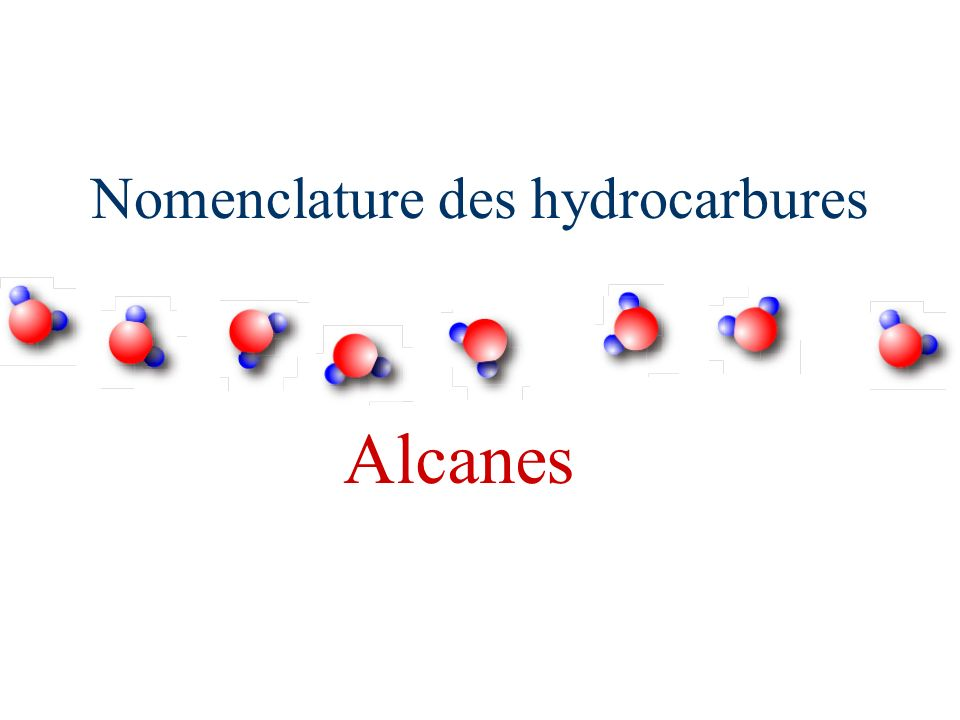 Alcanes