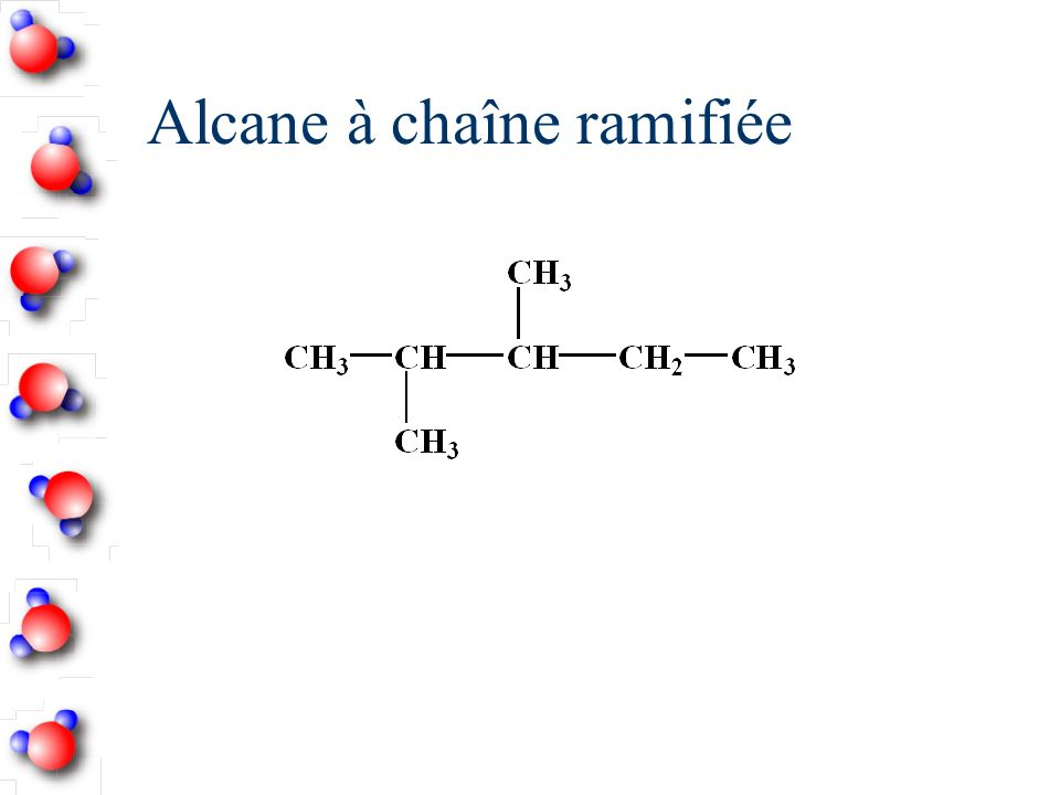 Alcane à chaîne ramifiée
