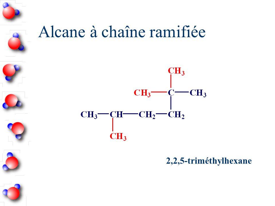 Alcane à chaîne ramifiée 2,2,5-triméthylhexane