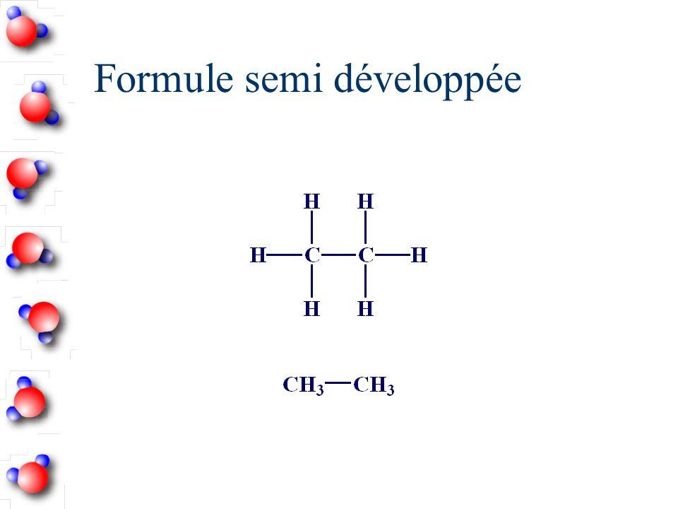 Alcène avec radicaux n Choisir la chaîne la plus longue avec toutes les fonctions.