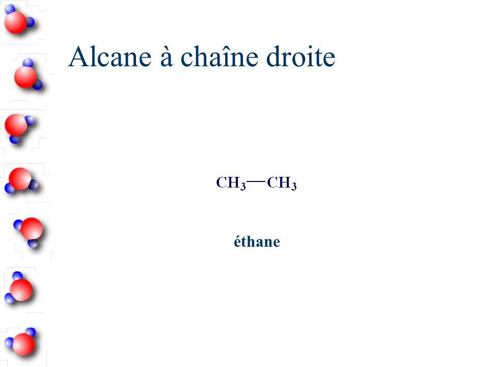 Écrire la structure semi-développée du 2,2,4-triméthylpentane n On ajoute les H qui manquent.