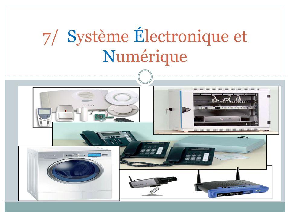 7/ Système Électronique et Numérique