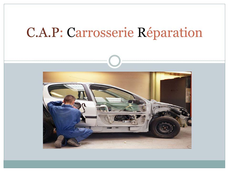 C.A.P: Carrosserie Réparation