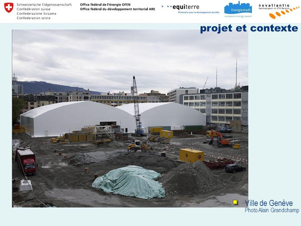 Ville de Genève Photo Alain Grandchamp projet et contexte