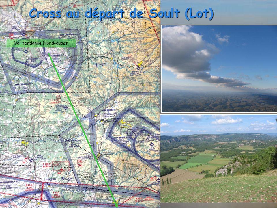 Cross au départ de Soult (Lot) Vol tendance Nord-ouest