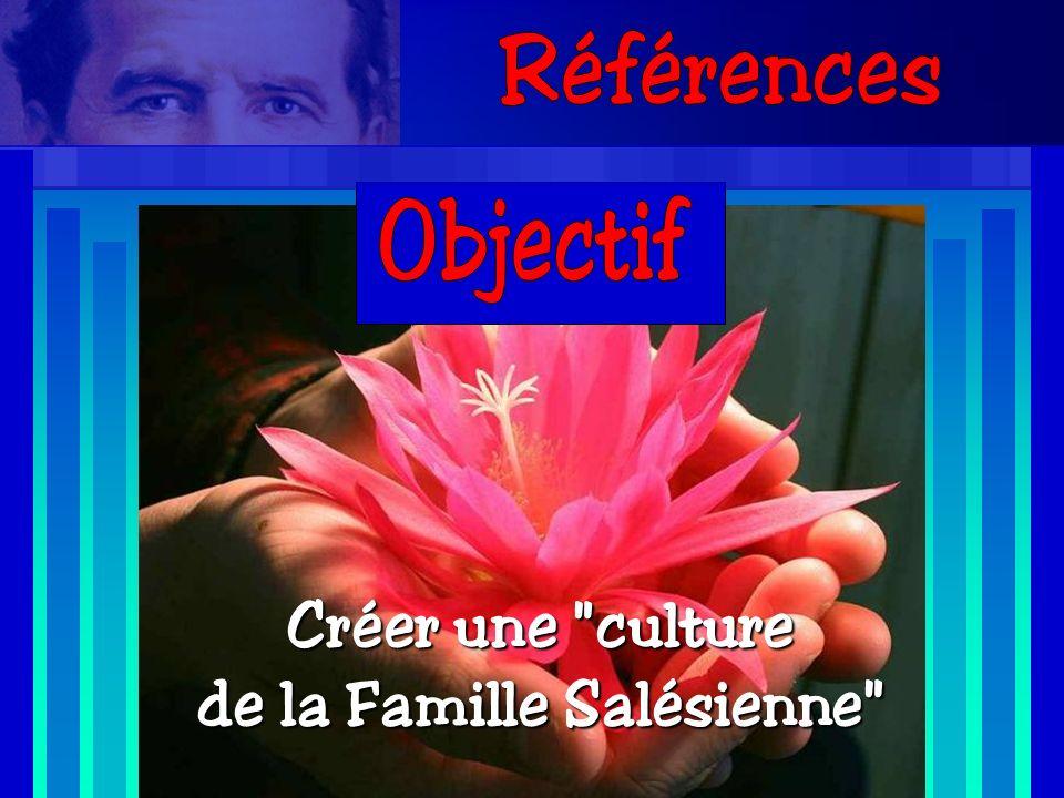 Créer une culture de la Famille Salésienne