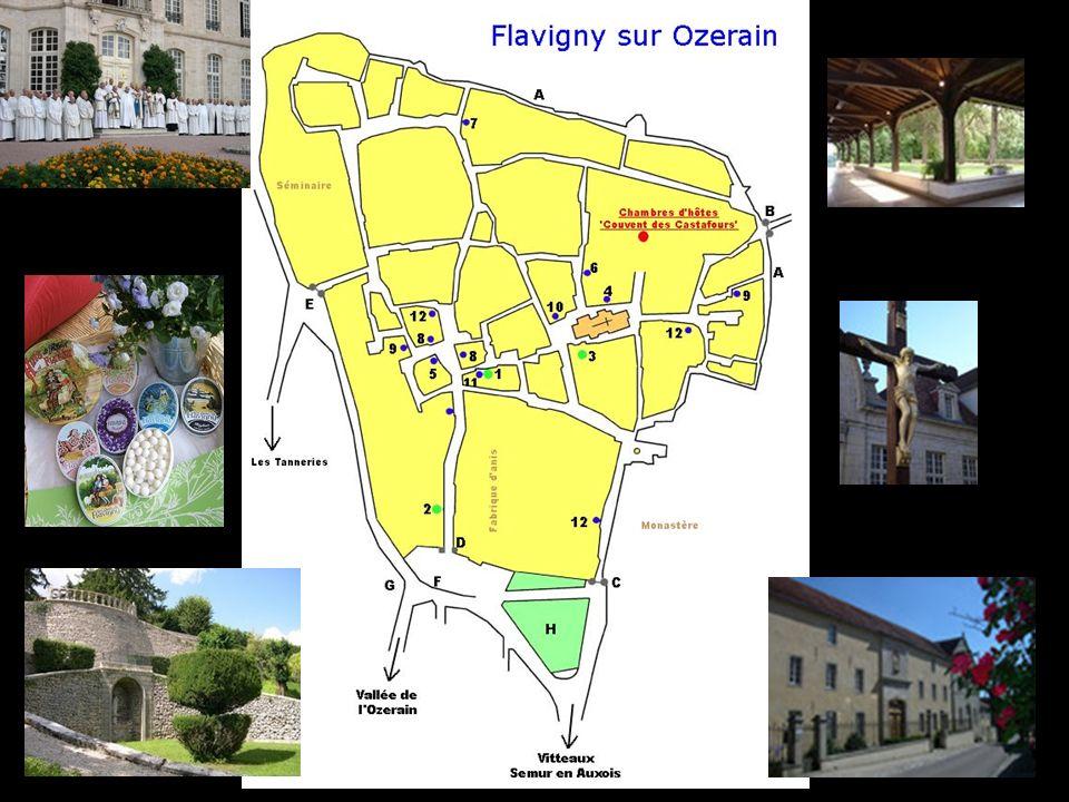 Au XIXè, prospère cité vigneronne, Flavigny devient Chef-lieu de Canton avec gendarmerie, justice de paix, perception, marchés et foires y fleurissent régulièrement.