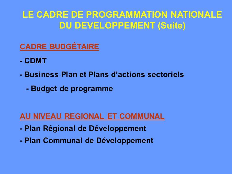 Le DSRP prend en considération toutes les préoccupations des OMD, mais il reste encore une «Stratégie de réduction de pauvreté» et pas nécessairement une stratégie pro-pauvre.