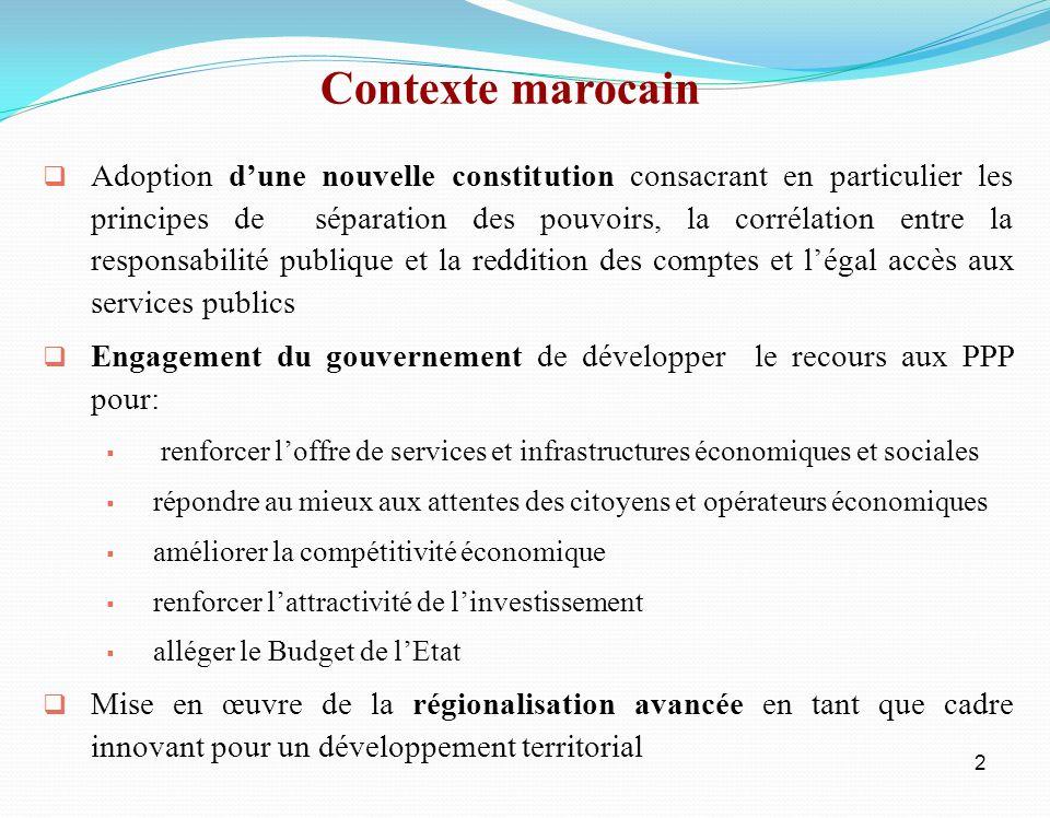2 Adoption dune nouvelle constitution consacrant en particulier les principes de séparation des pouvoirs, la corrélation entre la responsabilité publi