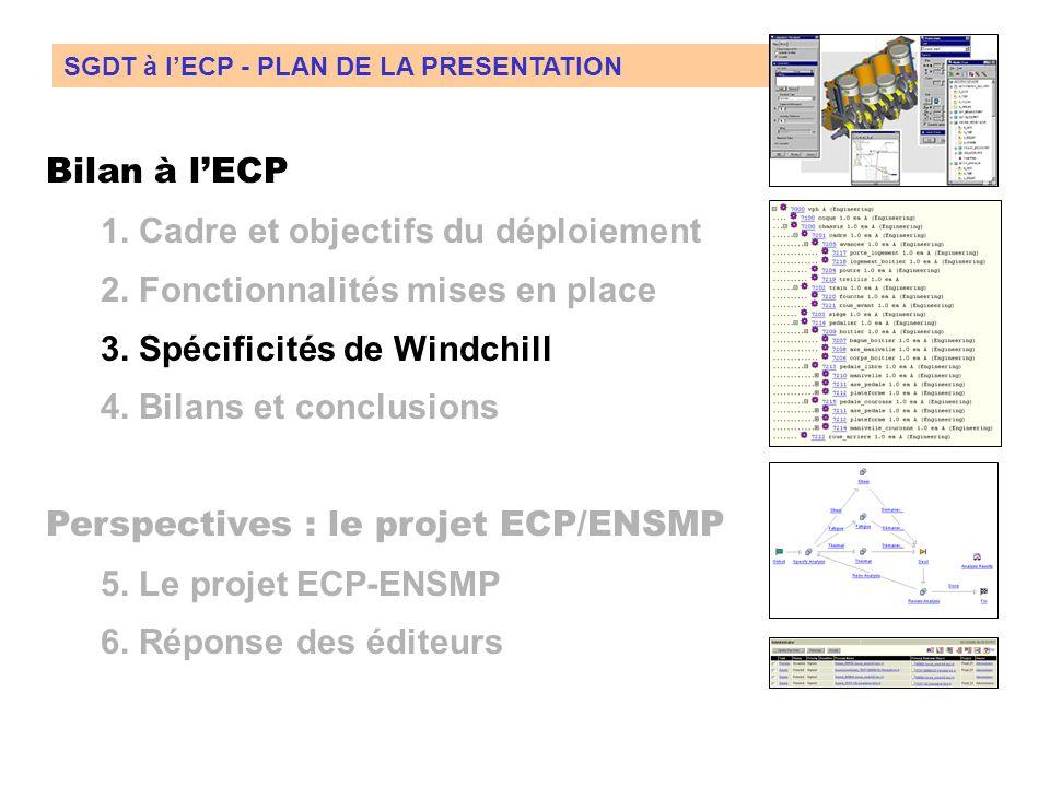 2. Fonctionnalités utilisées Utilisation comme support de cours (TD Option GI) : GED, Workflow, Structure produit Objectifs pour lutilisation en conte