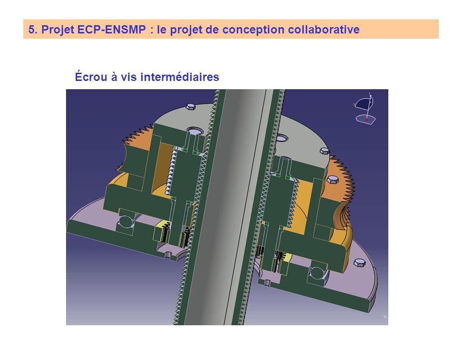 5. Projet ECP-ENSMP : le projet de conception collaborative Tondeuse automatique