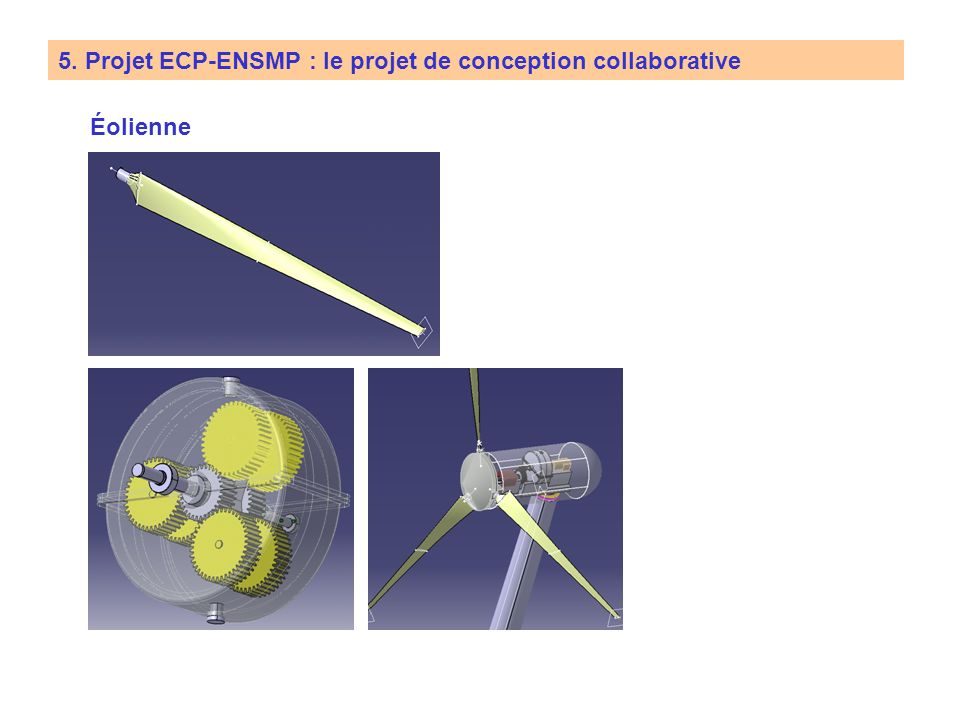 5. Projet ECP-ENSMP : le projet de conception collaborative Écrou à vis intermédiaires