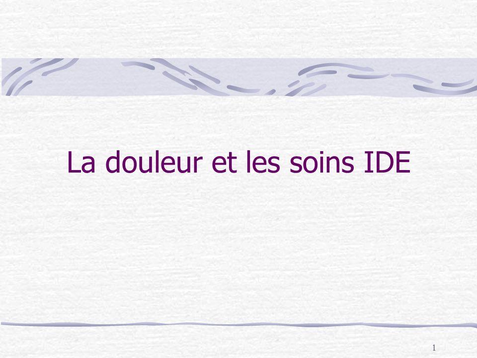 22 Le questionnaire de St Antoine QDSA (Questionnaire Douleur Saint Antoine) Le patient choisit le terme le mieux adapté à sa douleur dans chaque sous-classe de qualitatif retenue.