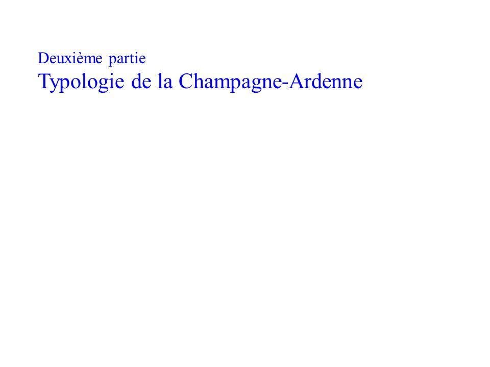 Deuxième partie Typologie de la Champagne-Ardenne