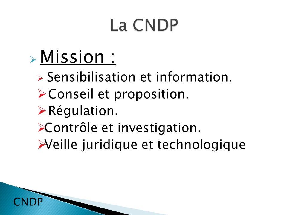Mission : Sensibilisation et information.Conseil et proposition.