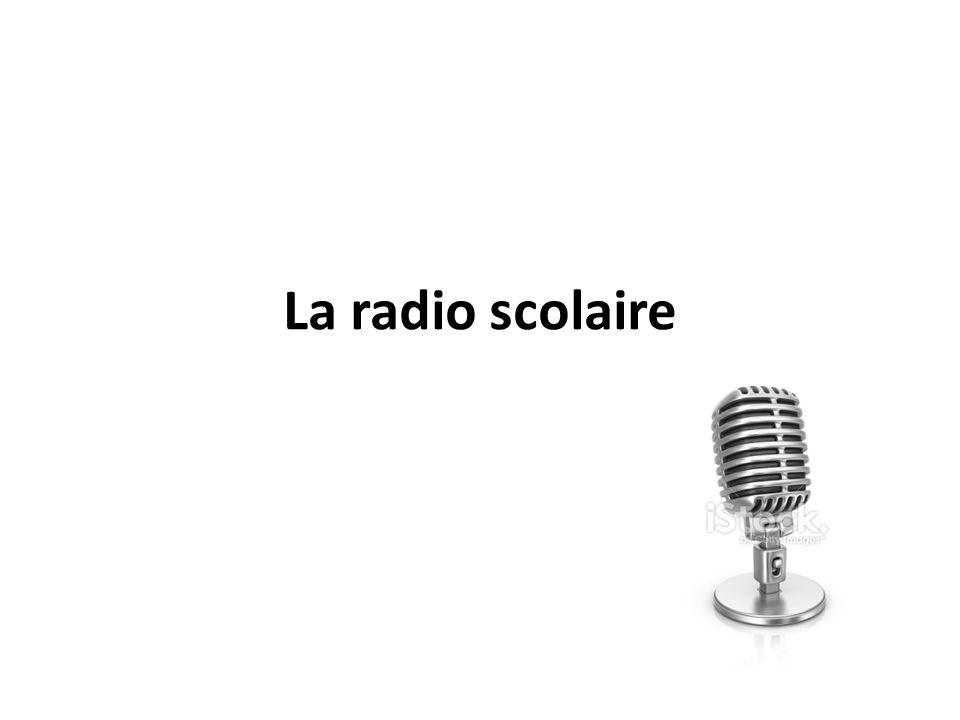 La radio scolaire