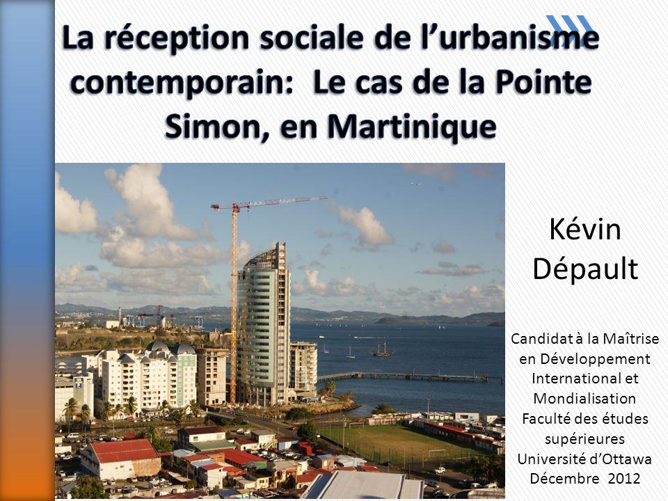 Kévin Dépault Candidat à la Maîtrise en Développement International et Mondialisation Faculté des études supérieures Université dOttawa Décembre 2012