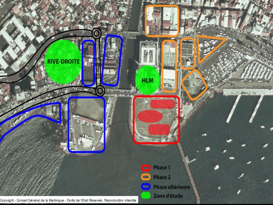 Phase 1Phase 2 1 2 3 Le projet de la Pointe Simon Un complexe daffaires, hôtelier et résidentiel Projet clé dans le réaménagement du centre-ville, va changer radicalement lallure du quartier Source: SPPS, 2012)
