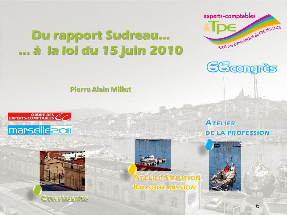 Aspects comptables de lEIRL Pierre-Alain MIllot 26