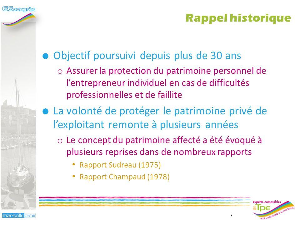 Du rapport Sudreau… … à la loi du 15 juin 2010 Pierre Alain Millot 6