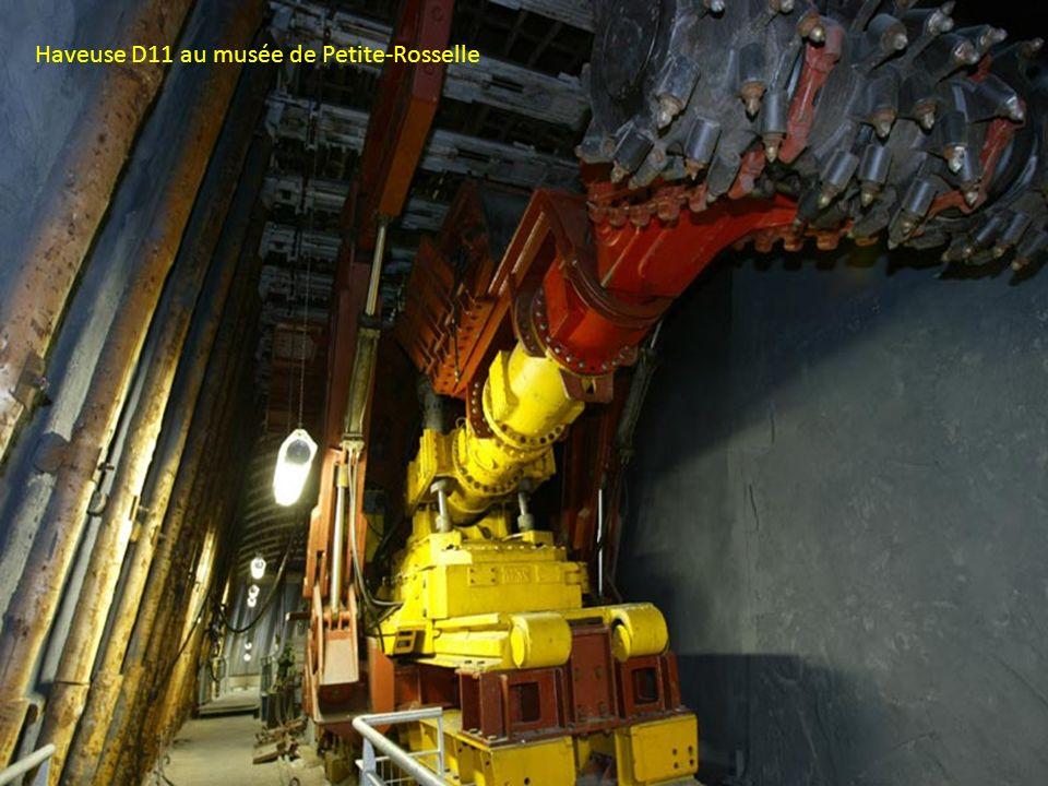 Haveuse ANF D11 avec lève cadre à bras Boulonnage Tambour de havage