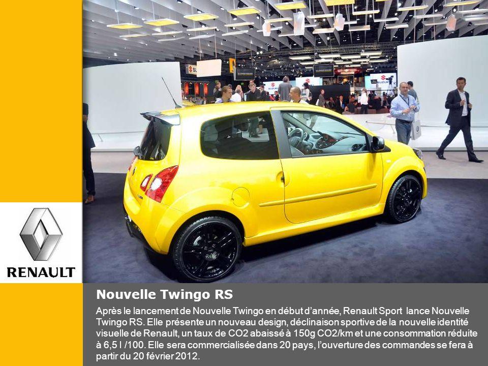 Nouvelle Twingo RS Après le lancement de Nouvelle Twingo en début dannée, Renault Sport lance Nouvelle Twingo RS. Elle présente un nouveau design, déc