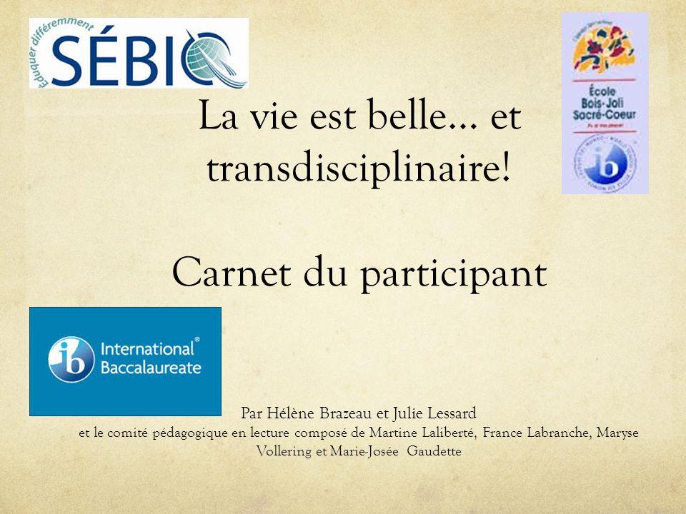 Rencontre par cycle Mars 2014 École déducation internationale Bois-Joli-Sacré-Coeur