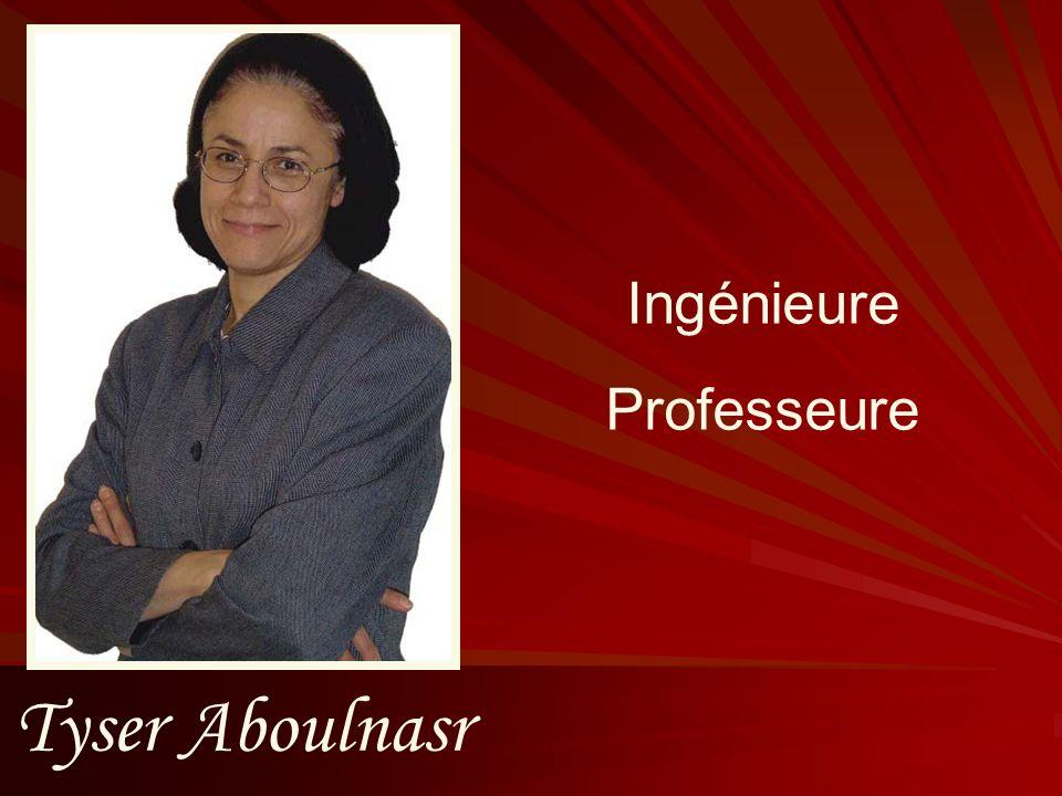 Tyser Aboulnasr Ingénieure Professeure