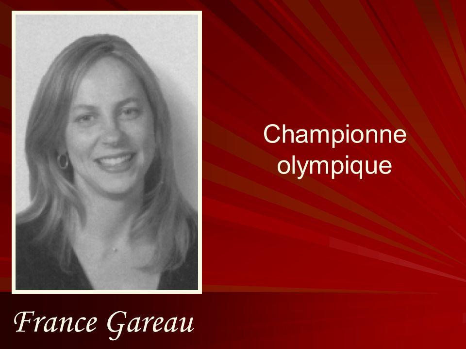 France Gareau Championne olympique