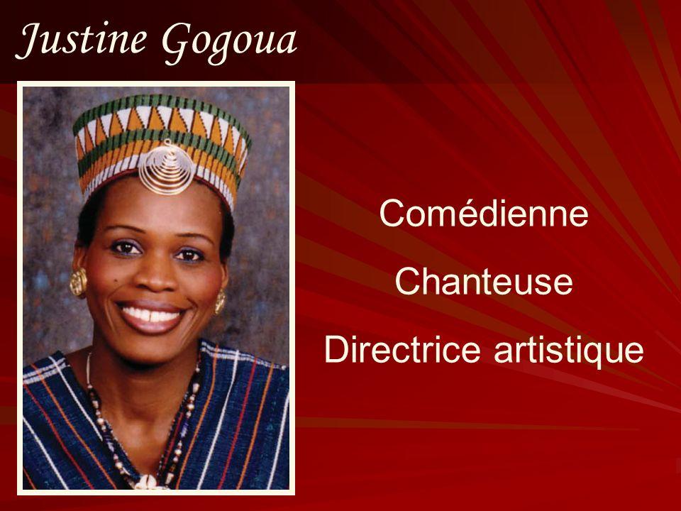 Justine Gogoua Comédienne Chanteuse Directrice artistique