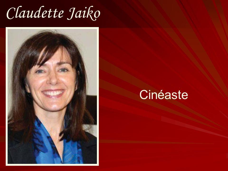 Claudette Jaiko Cinéaste