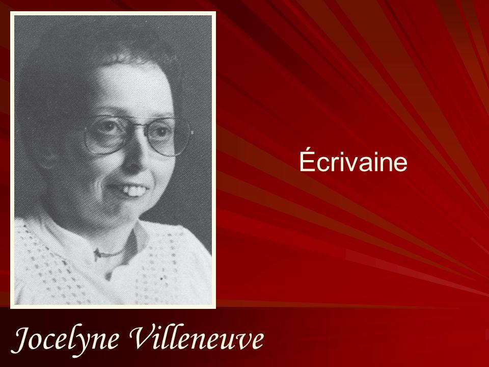 Jocelyne Villeneuve Écrivaine