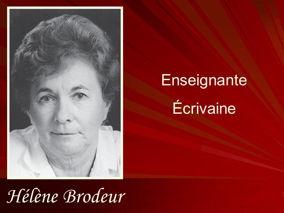 Gabrielle Levasseur Enseignante Secrétaire générale de lAEFO