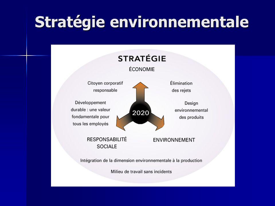 Stratégie environnementale