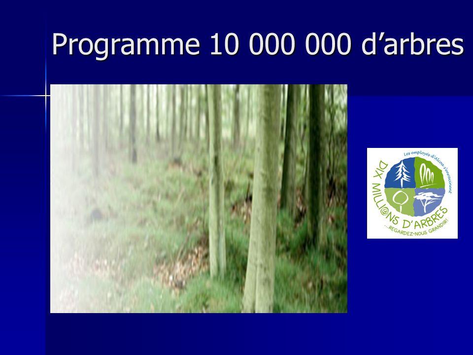 Programme 10 000 000 darbres