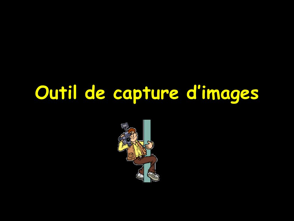 Sert à capturer des images Permet de les annexer aux dossiers patients Peut fonctionner de deux façons différentes : Appelé de LOGOS_w En autonome