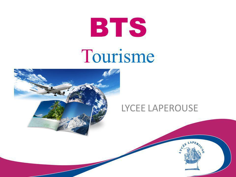 Le BTS Tourisme se substitue à la fois au BTS « Animation et gestion touristiques locales » et au BTS « Ventes et productions touristiques » (créés en 2001).