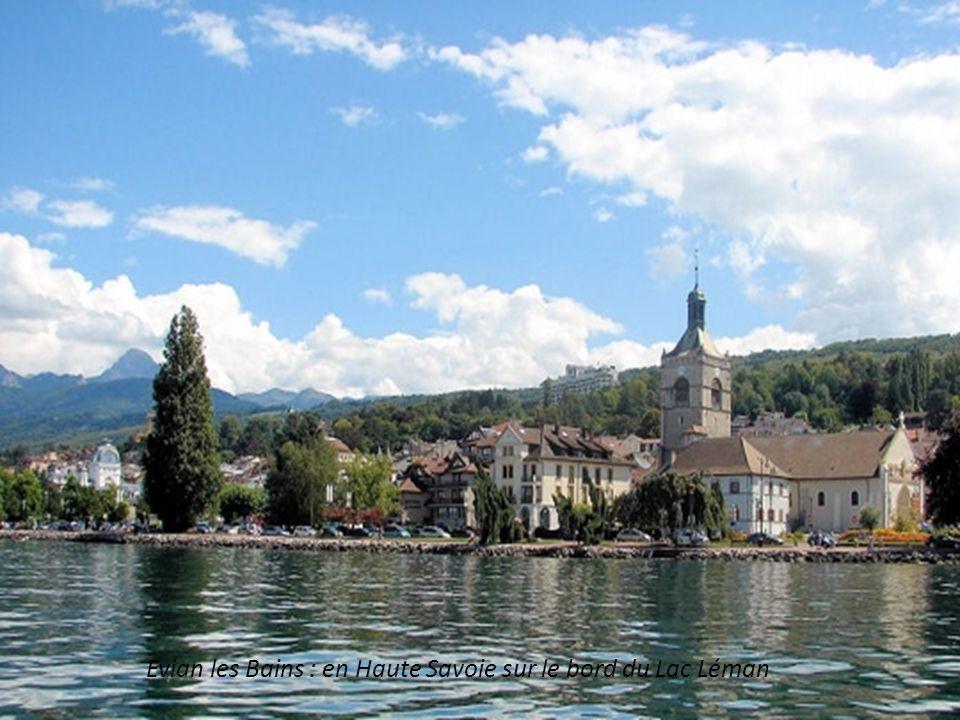 Vichy (Allier) baptisée Reine des villes deaux par Napoléon III. aux vertus relaxantes et vivifiantes depuis le 17° siècle.