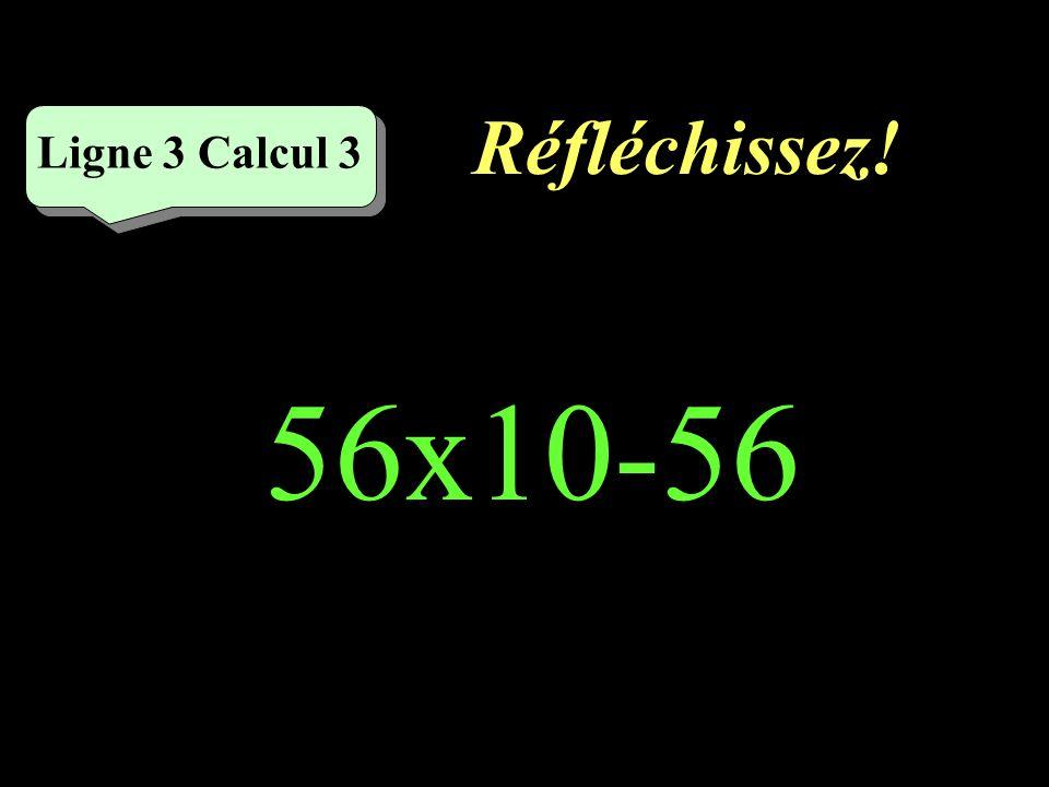 Écrivez ! Ligne 3 Calcul 2 26+26x10=