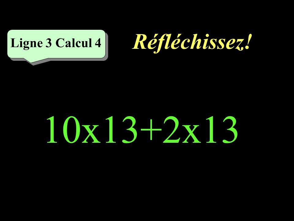 Écrivez ! Ligne 3 Calcul 3 56x10-56=